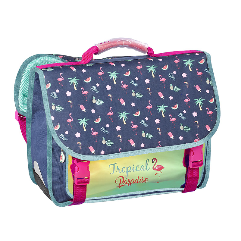 Dos Mouss/é et Renforc/é Viquel Cartable Primaire Mermaid 38Cm